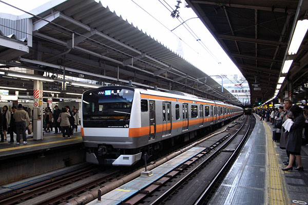 東京都 JR新宿駅中央線 心霊スポット 恐怖体験談