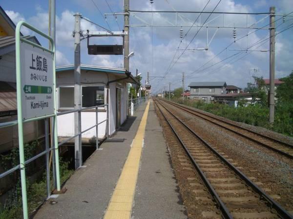 秋田県 心霊スポット 奥羽本線上飯島駅