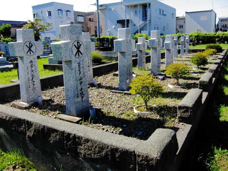 北海道 心霊スポット 白石本通墓地