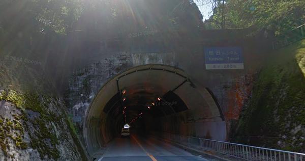 大阪府 心霊スポット 樫田トンネル