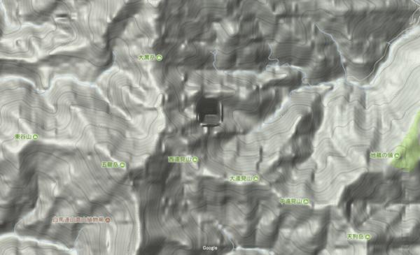 長野県 心霊スポット 白岳横の穴