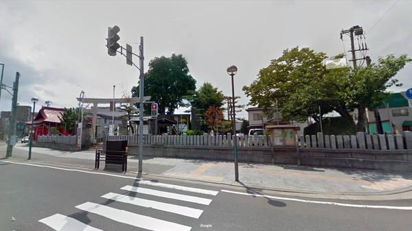 青森県 心霊スポット 久須志神社の脇道(霊道)